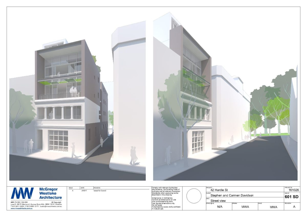 Journal mcgregor westlake architecture for Shop with apartment above